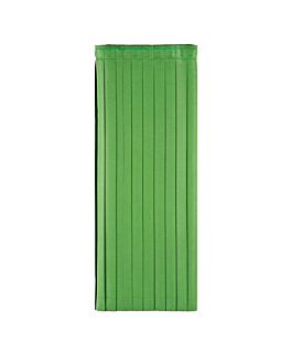 skirtings 72x400 cm green airlaid (5 unit)