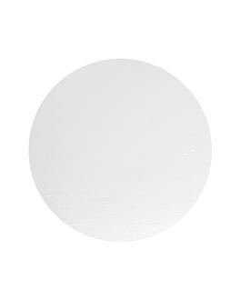 coperchio per - codice 325.26 Ø 21 cm bianco cartone (500 unitÀ)