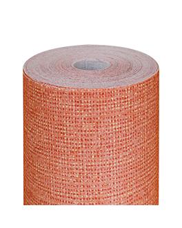 tablecloth 'like linen - aurora' 70 gsm 1,20x25 m tangerine spunlace (1 unit)