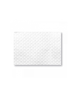 nappes en feuilles - recyclÉes 48 g/m2 70x70 cm blanc cellulose (500 unitÉ)