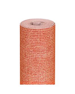 tablecloth 'like linen - aurora' 70 gsm 1,20x8 m tangerine spunlace (9 unit)