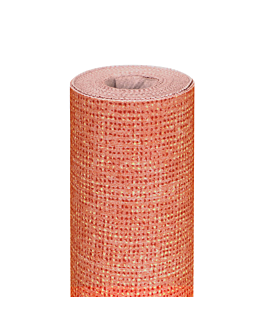 toalha de mesa 'like linen - aurora' 70 g/m2 1,20x8 m toranja spunlace (9 unidade)