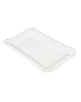 vassoi pasticceria - piccoli 20x13 cm bianco cartone (250 unitÀ)