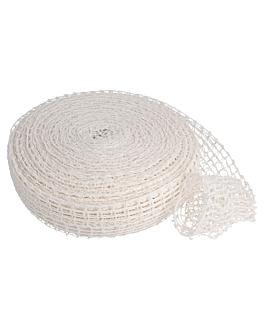 elastisches netz - 18 netze 50 m weiss polyester (1 einheit)