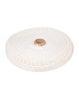 rete elastica - 18 maglie 50 m bianco poliestere (1 unitÀ)