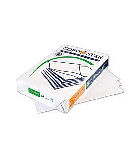 500 u. hojas papel fotocopiadora din-a4 80 g/m2 21x29,7 cm blanco papel (1 unid.)