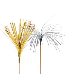 """decorazioni per gelati - """"palma foglio"""" 15 (h) cm colori varie legno (144 unitÀ)"""