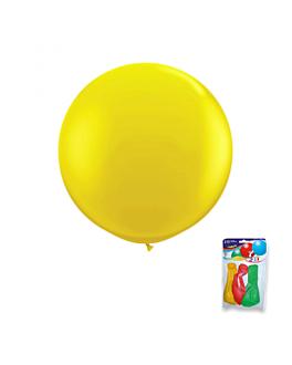 "3 u. globos ""jumbo"" Ø 36 cm surtido lÁtex (3 unid.)"