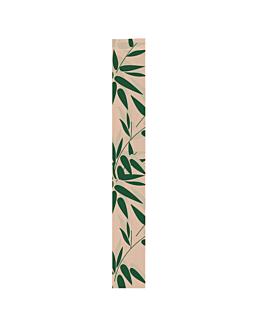 sachetti panetteria 'feel green' 32 g/m2 9+4x66 cm naturale kraft (250 unitÀ)