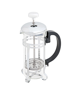 coffee or tea press 350 ml 19x8,5 cm silver stainless steel (1 unit)