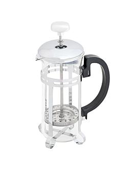 presse À cafÉ ou thÉ 350 ml 19x8,5 cm argente inox (1 unitÉ)
