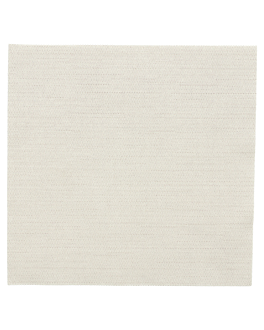 napkins double face 'like linen' 70 gsm 40x40 cm cream spunlace (600 unit)