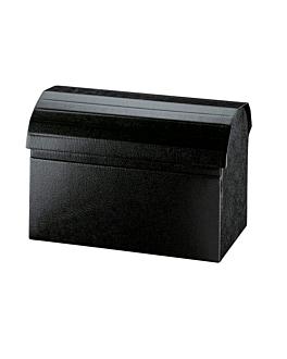 20 u. cofres 38x23x25 cm negro cartÓn (1 unid.)