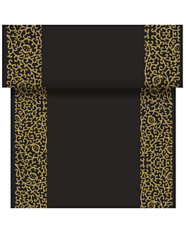 """tÊte À tÊte"" pre. 120cm (20 ser.) ""arabesc"" 55 gsm 0,40x24 m black airlaid (6 unit)"