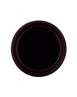 assiette de couleur Ø 26 cm noir ps (500 unitÉ)
