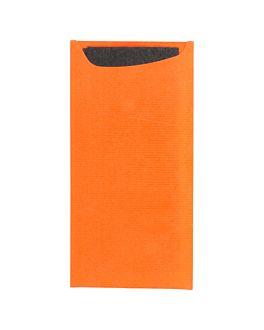 buste portaposate + tovagliolo 'just in time' 90 + 10pe g/m2 11,2x22,5 m arancio cellulosa (400 unitÀ)