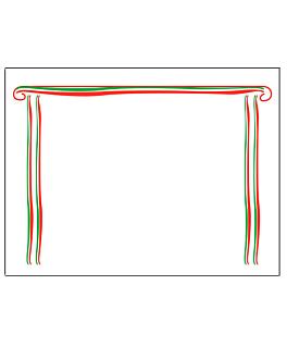 "mantelines ""caruso"" 55 g/m2 30x40 cm blanco airlaid (800 unid.)"