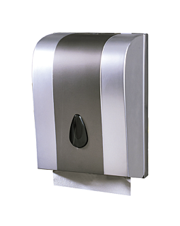 hand towel dispenser 26x18,8x38 cm metal abs (1 unit)