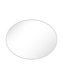 specchio ovale 81x56x0,5 cm acrilico (1 unitÀ)