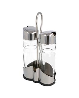 huiliers 2 piÈces 11x21,5 cm transparent verre (1 unitÉ)