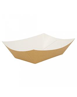barquettes 480 g 300 g/m2 10x6x5 cm marron carton (200 unitÉ)