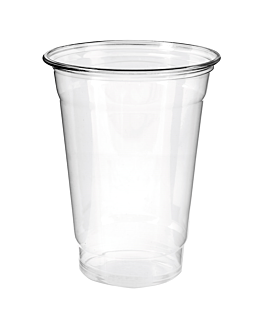 vasos 600 ml Ø9,8x13,6 cm transparente pet (1000 unid.)
