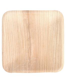piatti quadrate 'areca' 15x15x1,5 cm naturale areca (200 unitÀ)