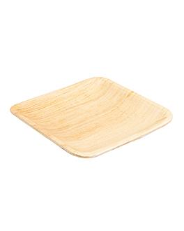 platos cuadrados 'areca' 15x15x1,5 cm natural areca (200 unid.)