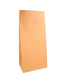 sacchetti sos senza maniglia 80 g/m2 15+10x32 cm naturale kraft (1000 unitÀ)