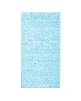 tovallons pleg. 1/8 'like linen' 70 g/m2 40x40 cm turquesa spunlace (600 unitat)