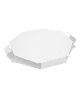 scatola per paella 375 g/m2 41x41x5,2 cm bianco cartone (100 unitÀ)