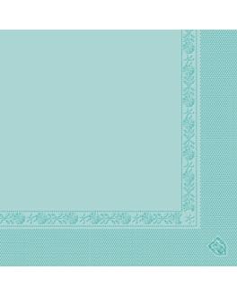 serviettes ecolabel 2 plis 18 g/m2 39x39 cm vert d'eau ouate (1600 unitÉ)