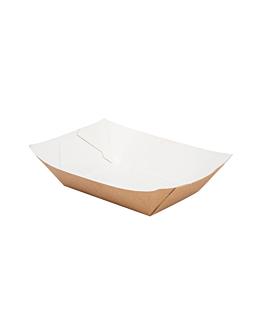 barchette 120 g 300 g/m2 7,3x4,7x3 cm marrone cartone (200 unitÀ)