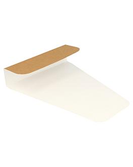 pizza-halter 300 g/m2 12x22,3 cm braun karton (1600 einheit)