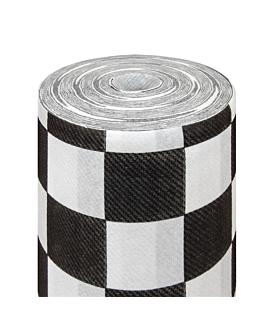 """""""tÊte À tÊte"""" pre. 120cm (20 ser.) 'fitipaldi' 55 gsm 0,40x24 m white airlaid (6 unit)"""