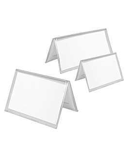 tabletop holders 7,5x4,5 cm clear ps (200 unit)