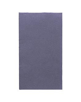 tovaglioli ecolabel p.1/6 'double point' 18 g/m2 33x40 cm blu marino tissue (2000 unitÀ)