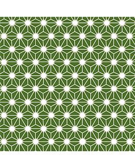 500 feuilles film opp dÉcoration delicatessen 16x16 cm vert plastique (1 unitÉ)