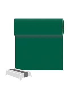 caminos de mesa 55 g/m2 0,30x12 m verde jaguar airlaid (6 unid.)