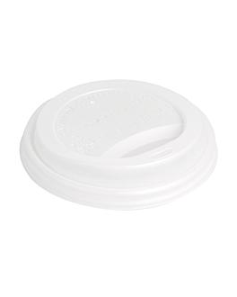 tampas para copos 360 ml 'biodegradable' branco cpla (1000 unidade)