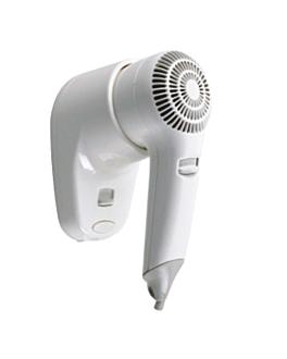 "hair dryer 25 l"" 65ºc 16x9x22 cm white abs (1 unit)"