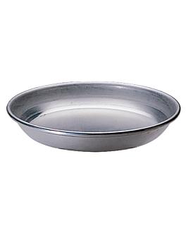 fuente mariscos Ø 37 cm plateado aluminio (1 unid.)