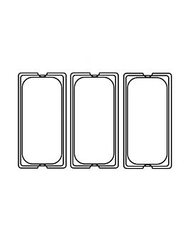 tapa 1/3 para cÓdigos 202.10/11 32,5x17,6 cm transparente policarbonato (1 unid.)