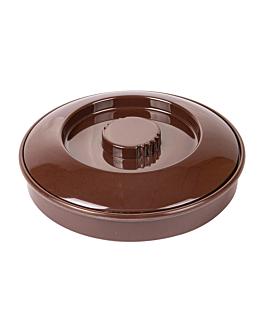 contenitori per tortilla Ø 19 cm marrone melamina (1 unitÀ)