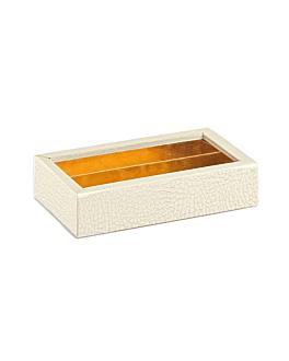 boÎtes chocolats 14,5x7,5x3,5 cm blanc carton (50 unitÉ)
