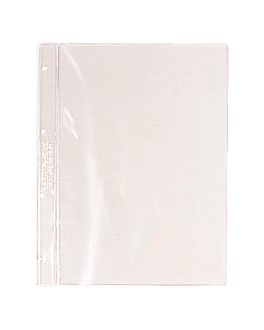 6 u. sleeves for menu covers din-a4 30,4x23,3 cm clear pvc (1 unit)