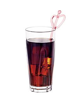 thick base cups 480 ml Ø 8,2x18 cm clear polycarbonate (72 unit)