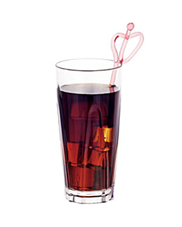 bicchieri base grossa 480 ml Ø 8,2x18 cm trasparente policarbonato (72 unitÀ)
