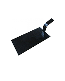 mini schaufeln fÜr snacks 10x5 cm schwarz bambus (100 einheit)
