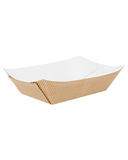 containers-corrugated 480 g 10x6x5 cm natural kraft (600 unit)